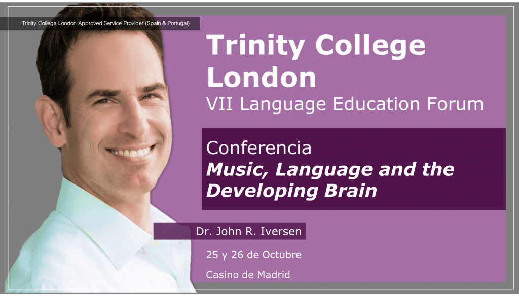 Conferencia Music, Language and the Developing Barin John Iversen