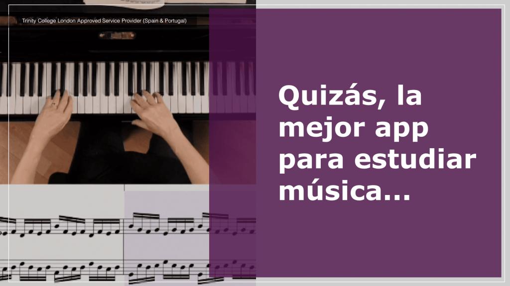 La mejor app para estudiar música