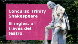 Concurso Trinity Shakespeare