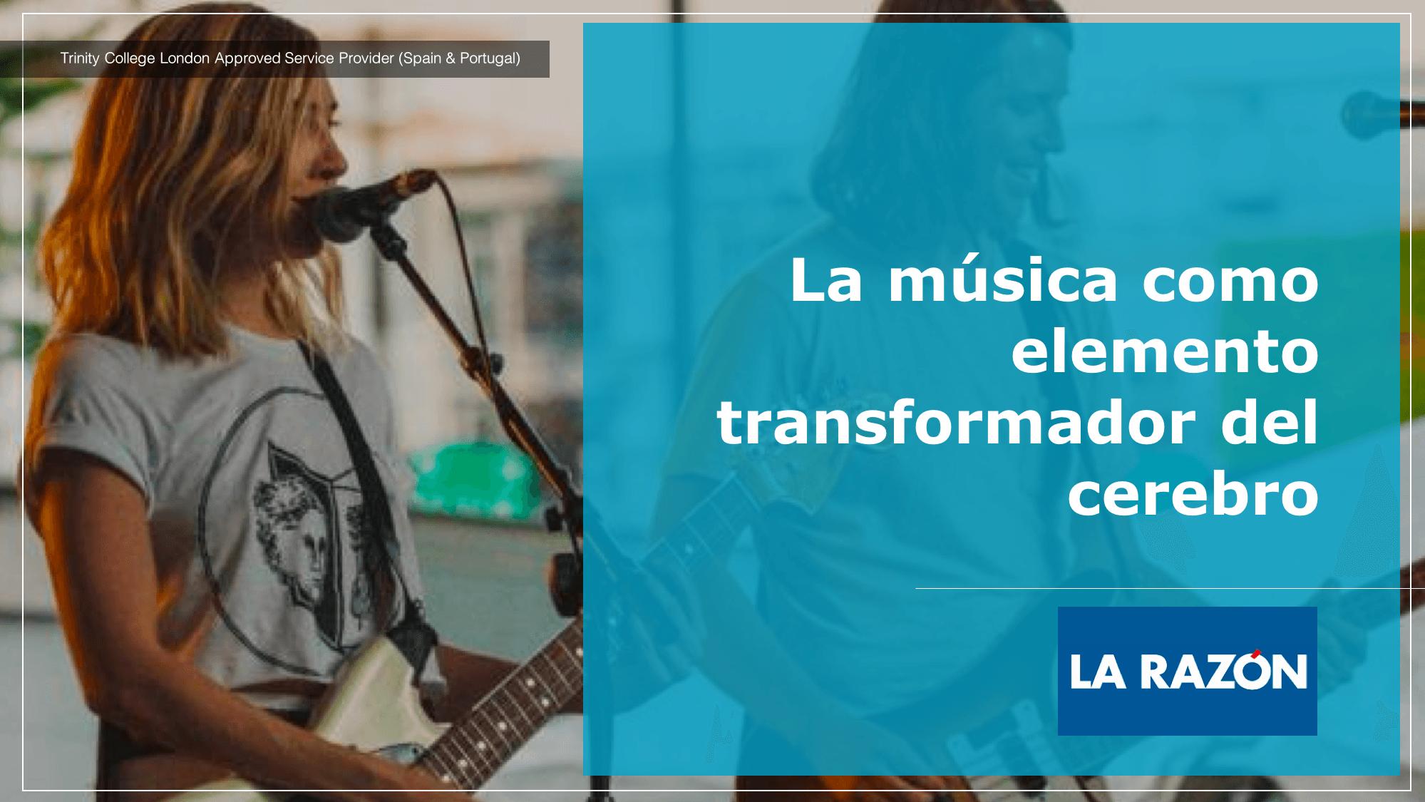La música como elemento transformador del cerebro