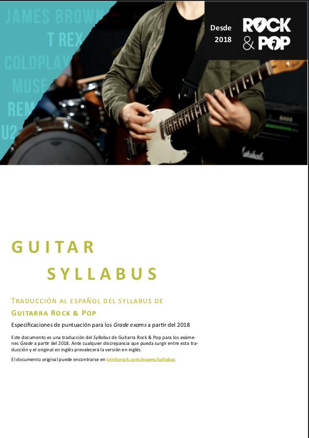 Syllabus Guitarra