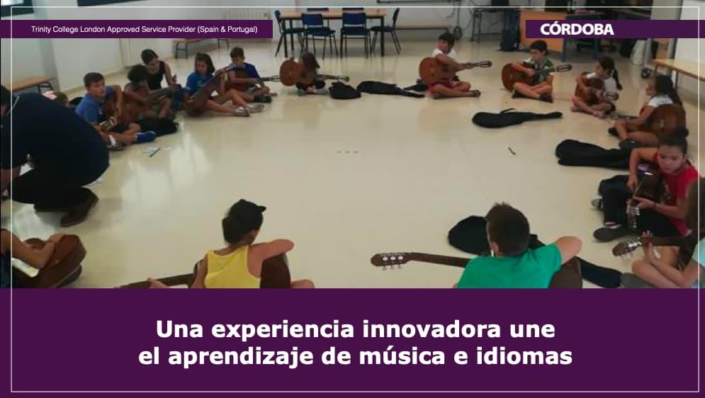 Una experiencia innovadora une el aprendizaje de música e idiomas Trinity College London