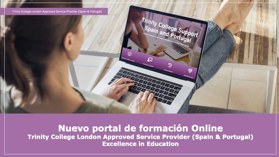Nuevo portal de formación online Trinity2