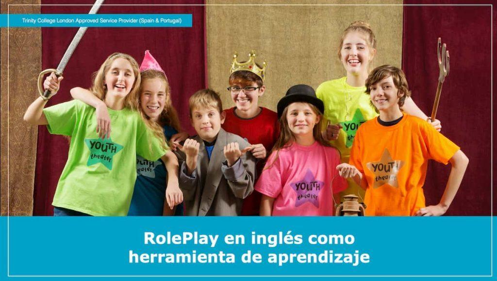 Roleplay en inglés como herramienta de aprendizaje