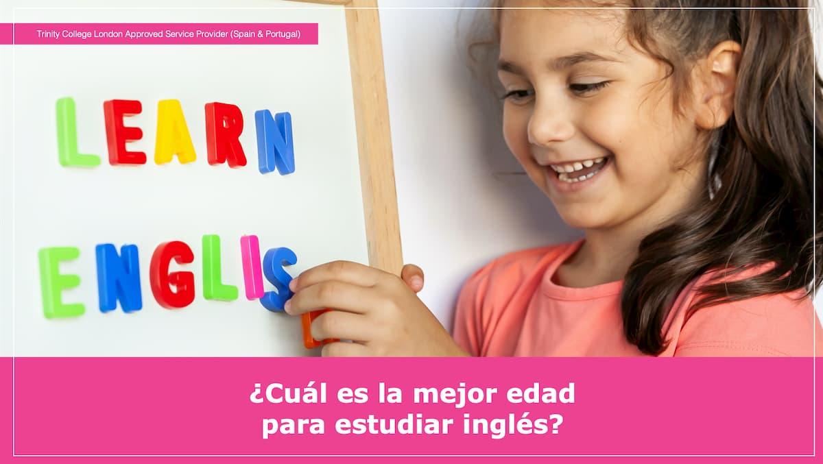 ¿Cuál es la mejor edad para estudiar inglés?