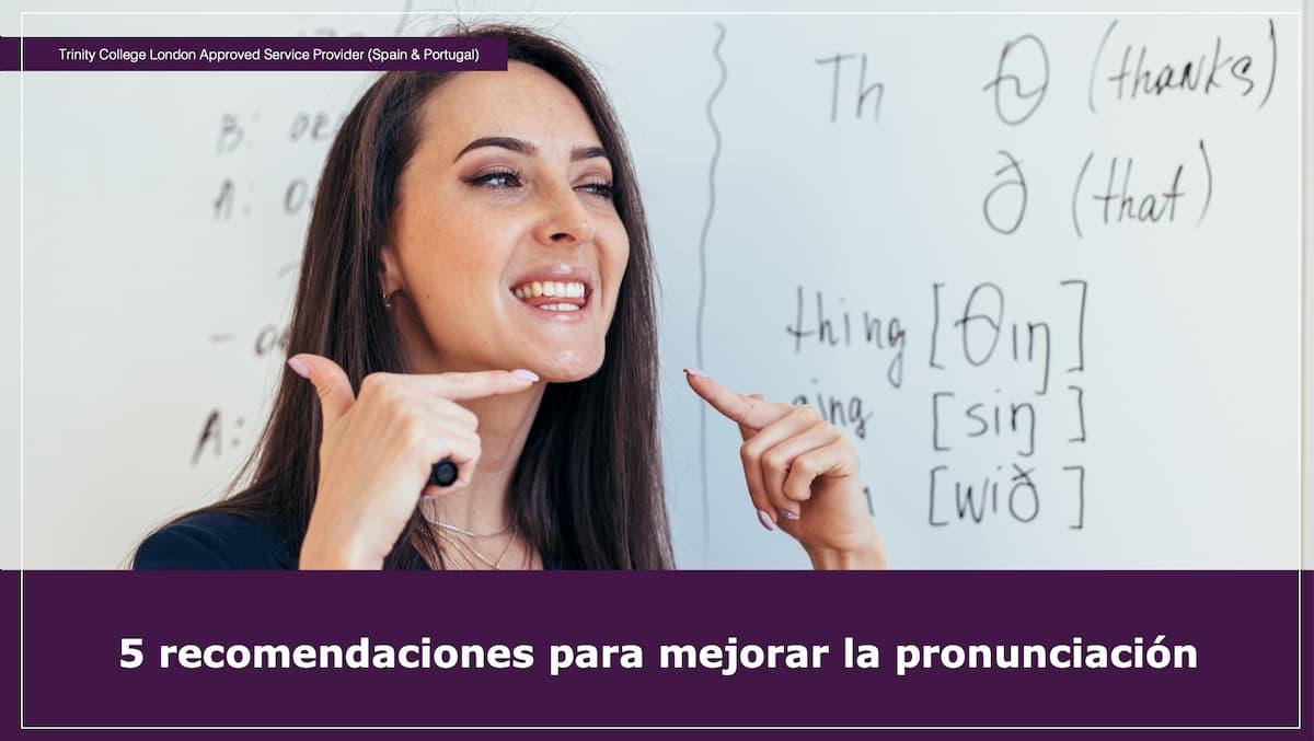 Pronunciación inglés