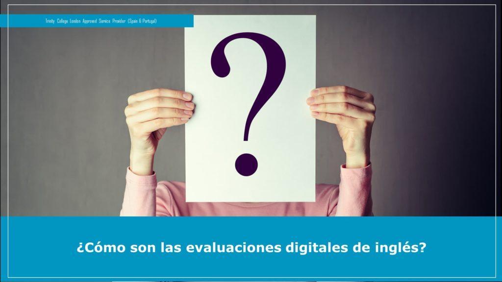evaluación digital de inglés