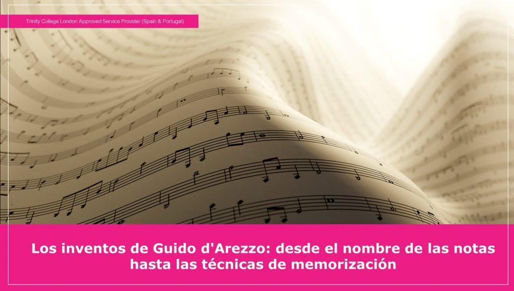 Las notas musicales y técnicas de memorización
