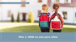 Edad ideal para los exámenes GESE