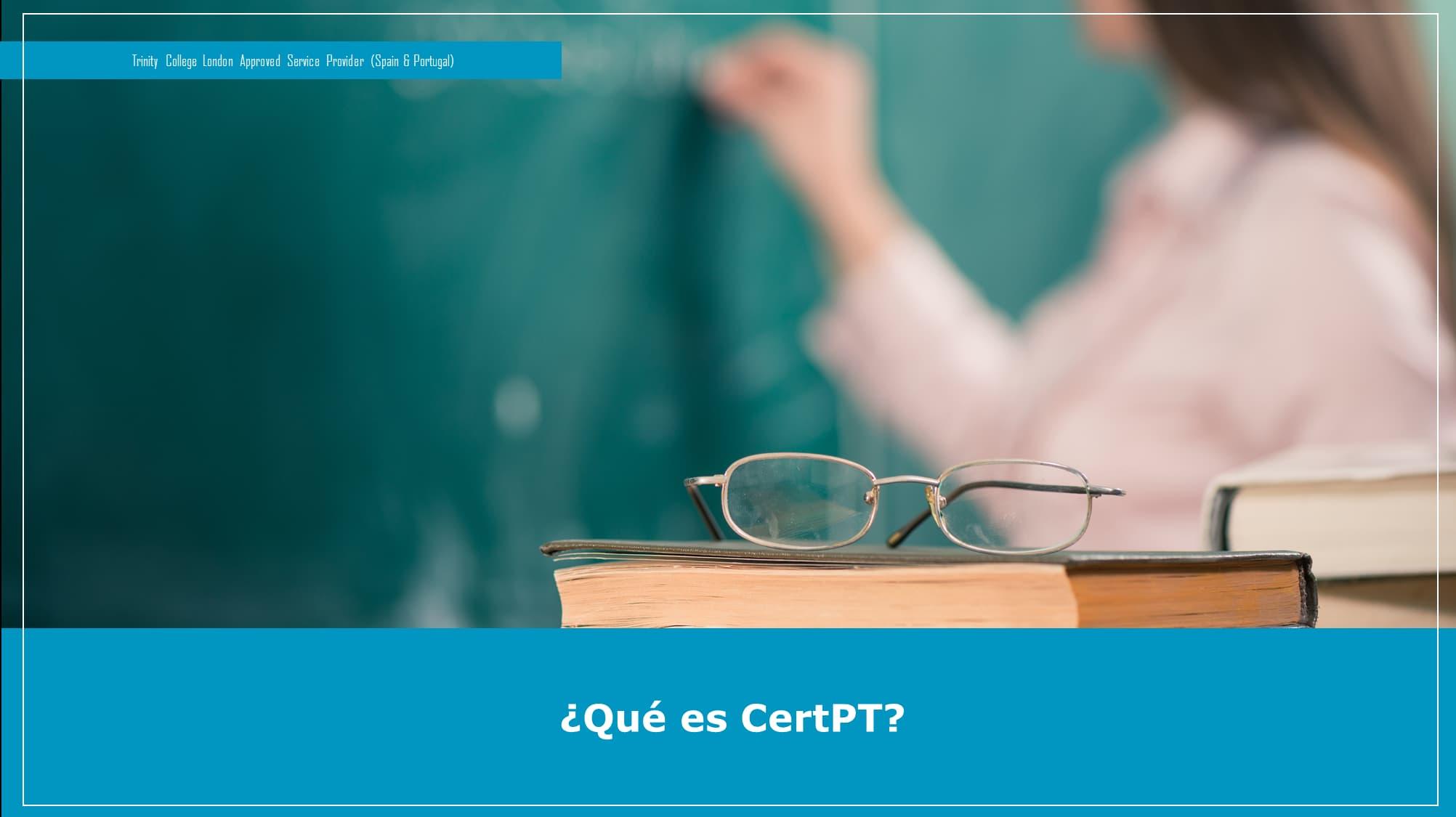 Qué es CertPT
