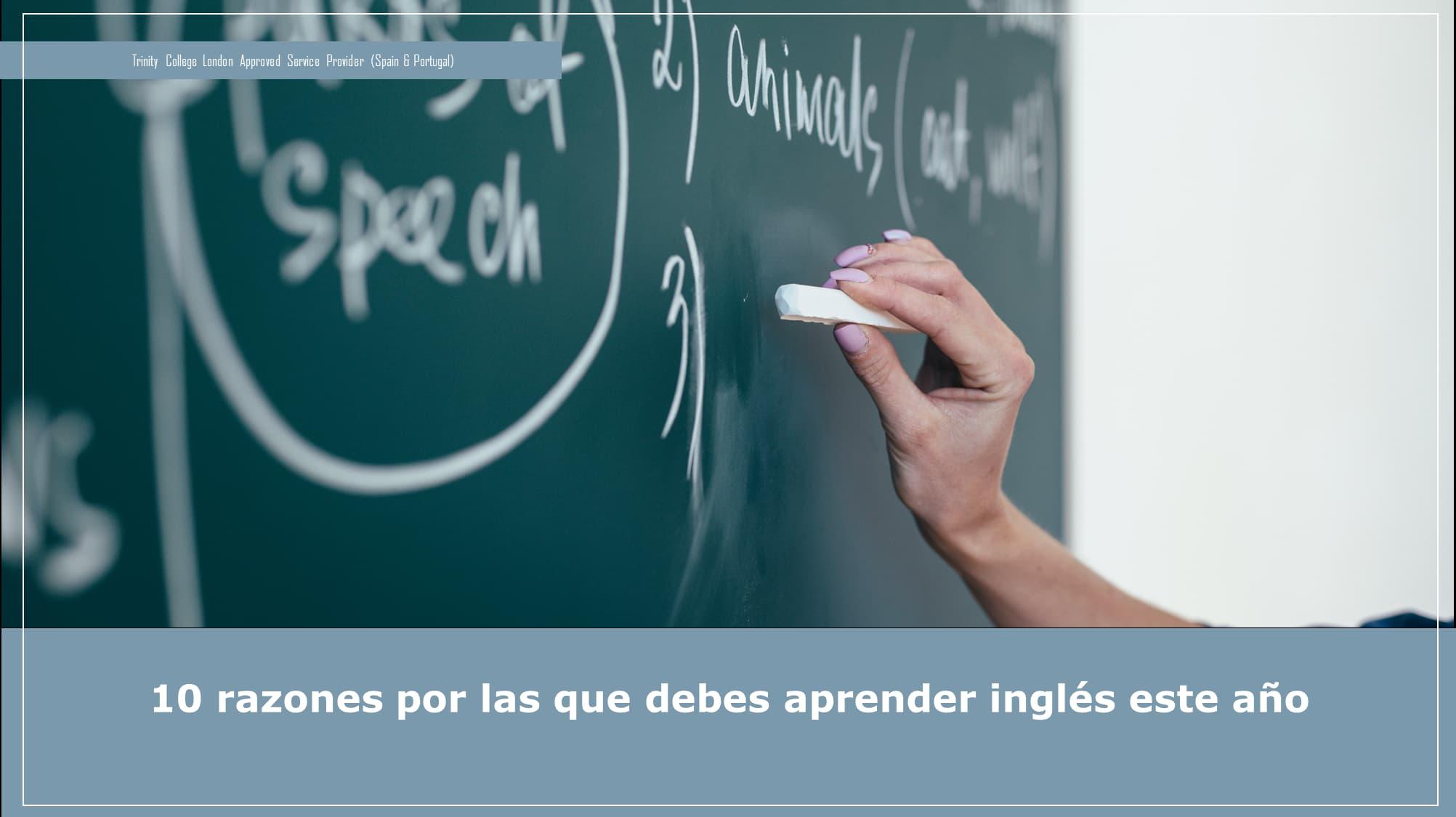 10 razones por las que debes aprender inglés este año