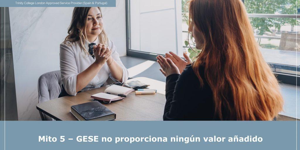Qué valor añadido porta el GESE