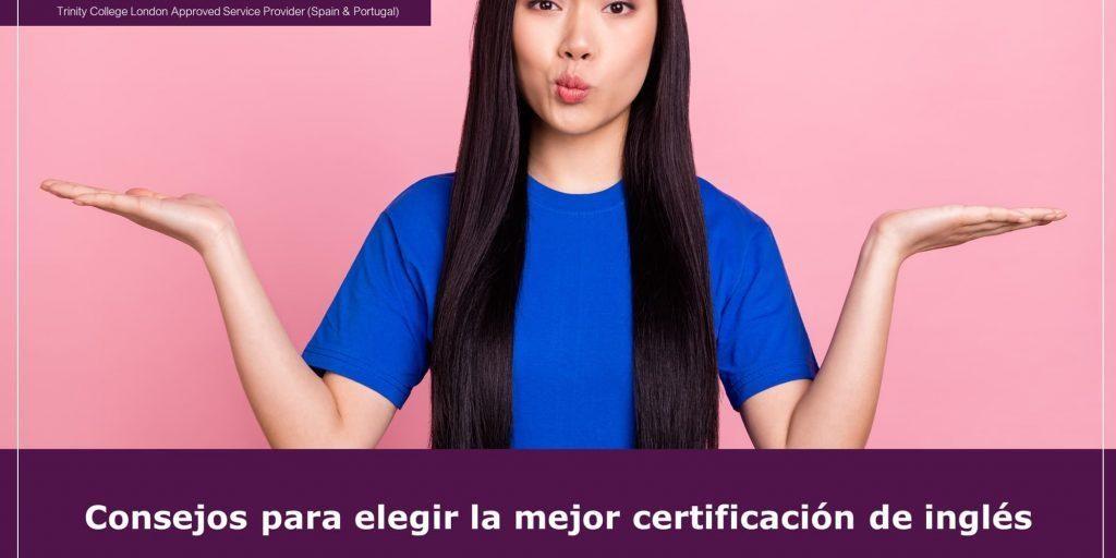 Elegir la mejor certificación de inglés