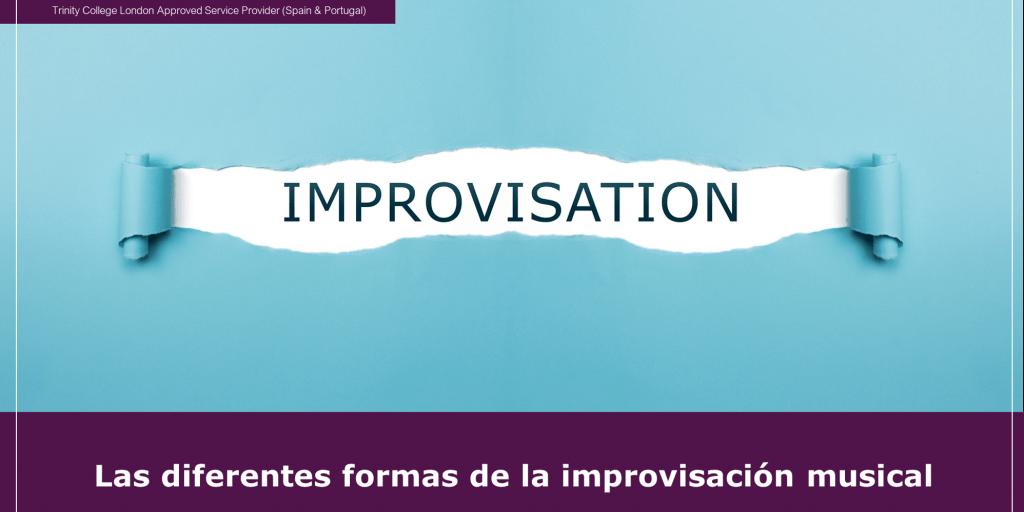 Las diferentes formas de la improvisación musical